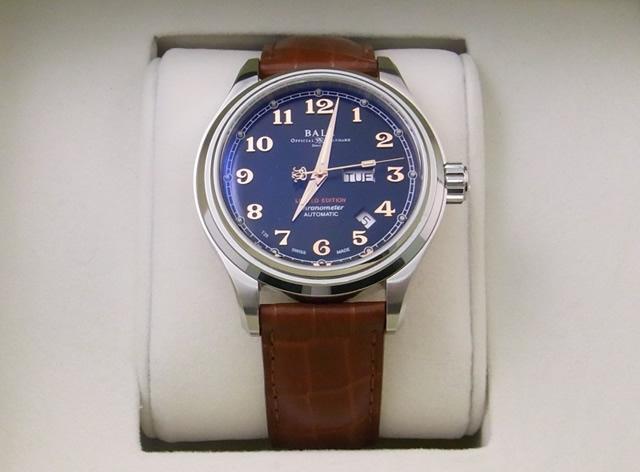 時計買取ballwatchクリーブランドエクスプレス自動巻き