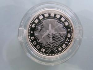 中部国際空港_裏 記念貨幣 記念メダル