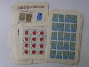 記念切手 シート バラ