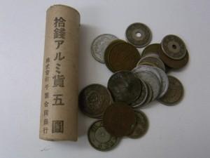 古銭ロール 1銭、5銭他