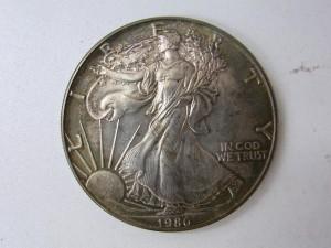 1ドル1オンス 銀貨 金貨銀貨買取 記念メダル買取