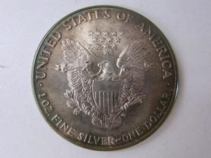 1ドル1オンス 銀貨裏 金貨銀貨買取 記念メダル買取