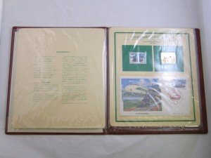 東北新幹線開通記念特別郵趣セット 2ページ 記念切手買取