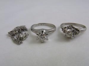 ダイヤモンドプラチナリング ダイヤモンド買取 貴金属買取