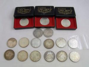 東京オリンピック記念1000円銀貨 17枚 さいたま市 買取チャンピオン