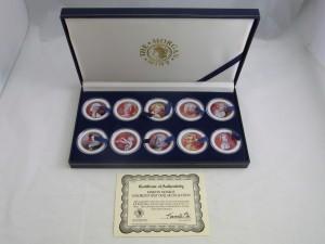 マリリン・モンロー50セントカラーコインセット 銀貨買取 さいたま市 買取チャンピオン
