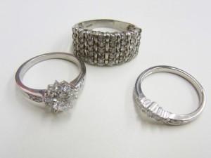 ダイヤモンドプラチナリング買取 PT900リング買取 さいたま市 買取チャンピオン