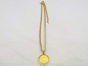 メイプルリーフ金貨ペンダントトップ喜平ネックレス買取 表 貴金属買取 さいたま市 買取チャンピオン