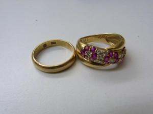 使わない指輪K18リング買取 貴金属高価お買取り さいたま市 宅配買取 買取チャンピオン