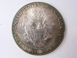 LIBERTYアメリカイーグル銀貨買取 裏 記念コイン買取 さいたま市 買取チャンピオン